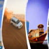 Abu Dhabi + Dubai City Tour + Desert Safari + Dhow Cruise Dinner