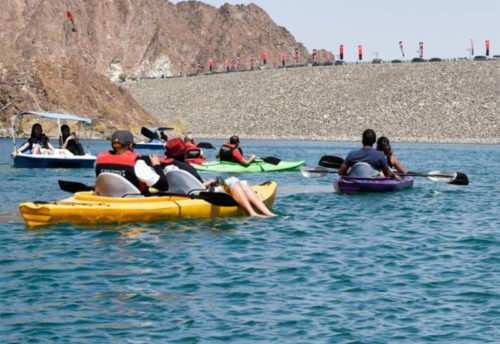 Hatta Mountain & Kayak Visite