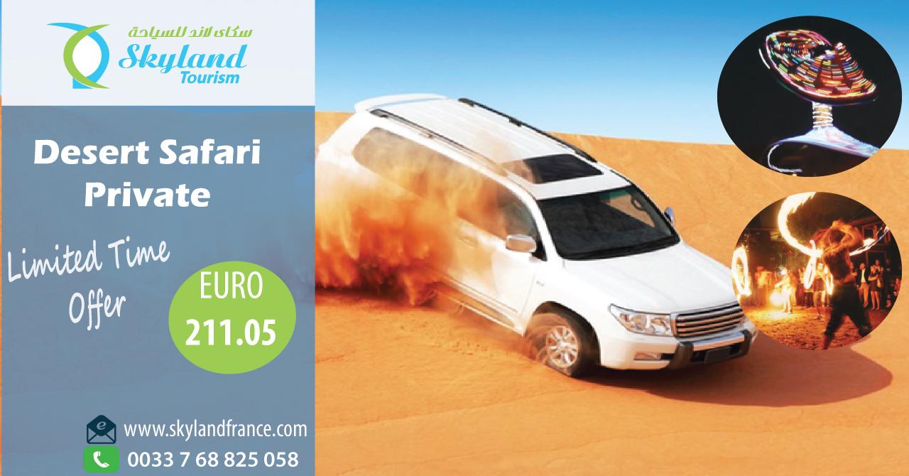 Dubaï safari dans le désert