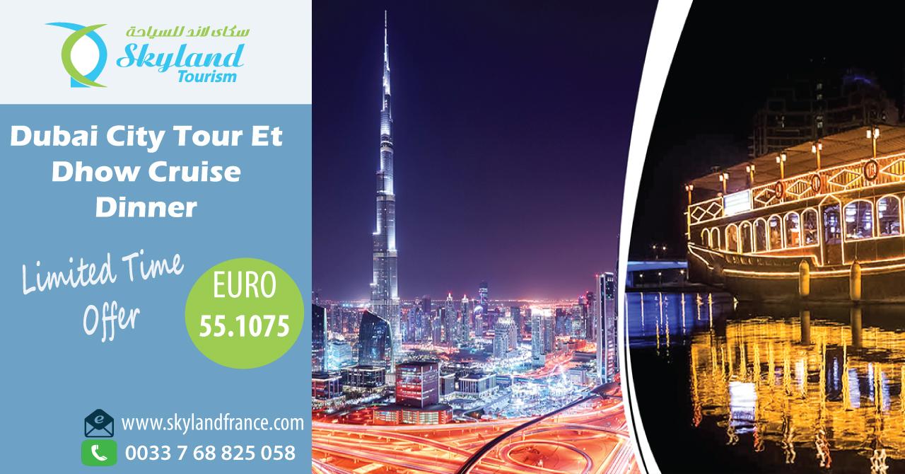 Partez au meilleur de Dubaï avec vos amis et votre famille avec Skyland Tourism. Visitez notre site Web pour obtenir les meilleurs forfaits pour votre voyage